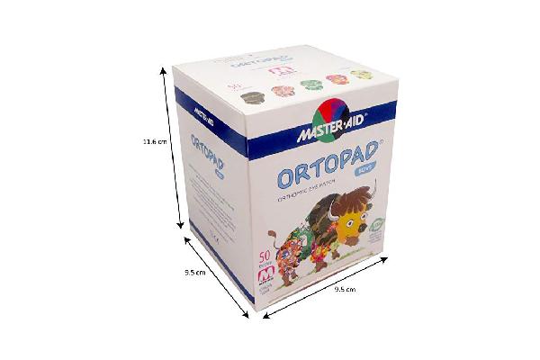 ORTOPAD Boys, medium size, 50 шт.