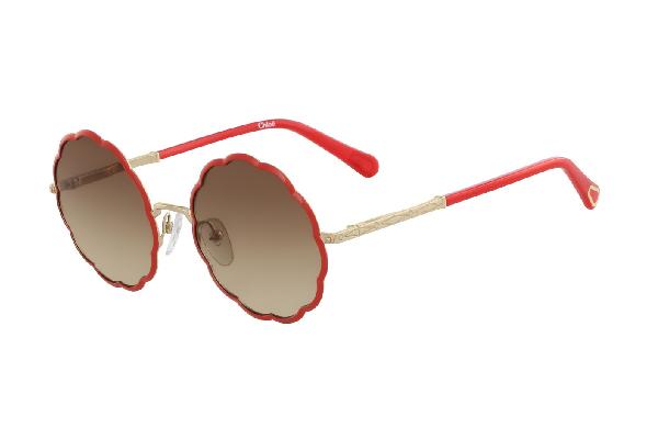 Детские солнцезащитные очки Chloe CE3103S gold red