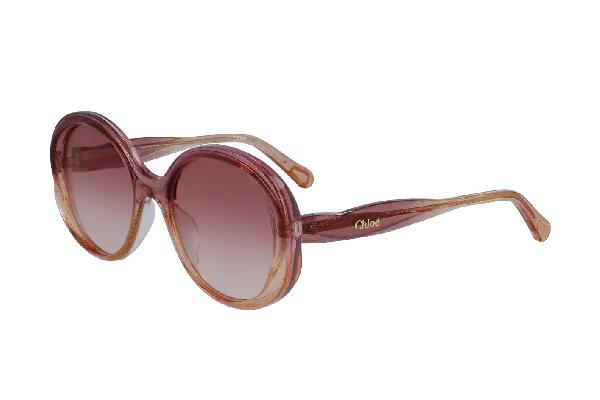 Детские солнцезащитные очки Chloe CE3615S glitter rose peach