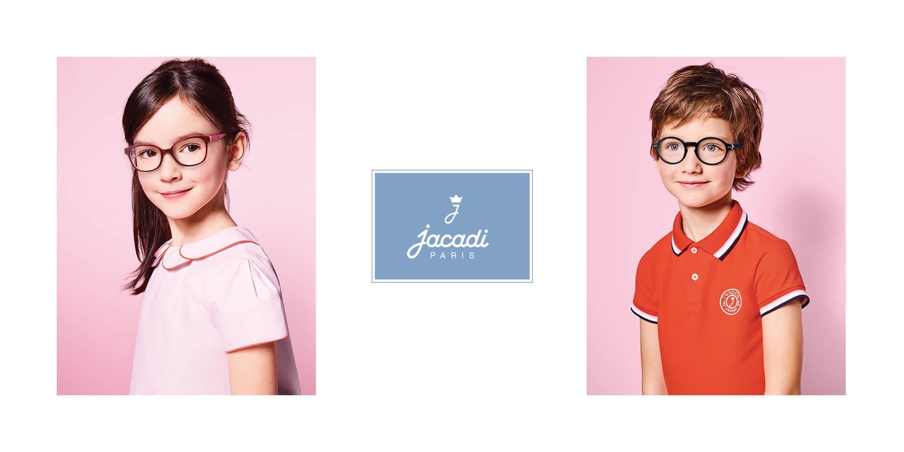 Детские оправы для девочек и мальчиков от популярного французского бренда Jacadi