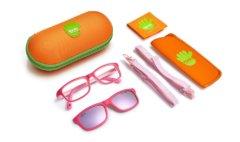 Солнцезащитные очки Nano с клипами для девочек