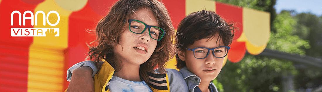 Детские оправы Nano Vista из силикона