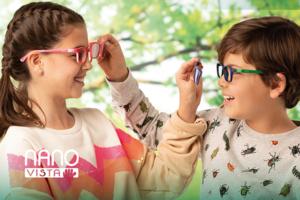 Детские очки с клипами